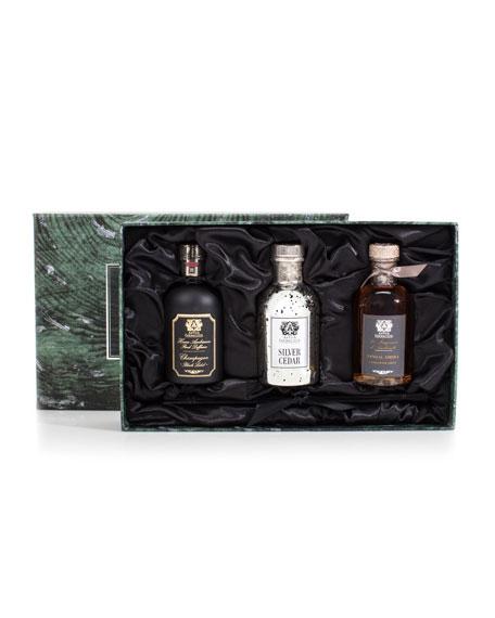 Antica Farmacista Trio (Silver Cedar, Champagne, and Sandalwood