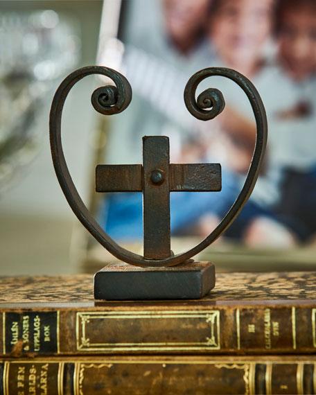 Jan Barboglio Corozon con Cruz Cross