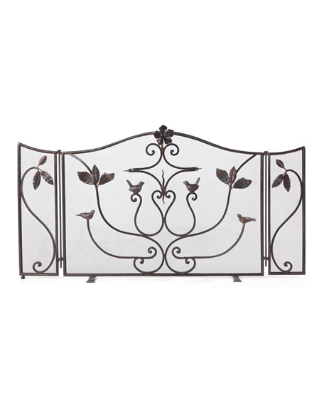Golondrina Fireplace Screen