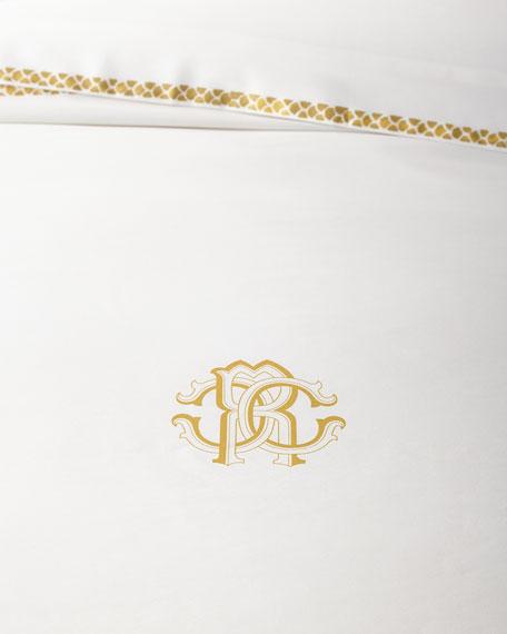 New Gold King Duvet Cover