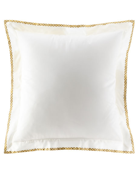 New Gold European Sham, Set of Two