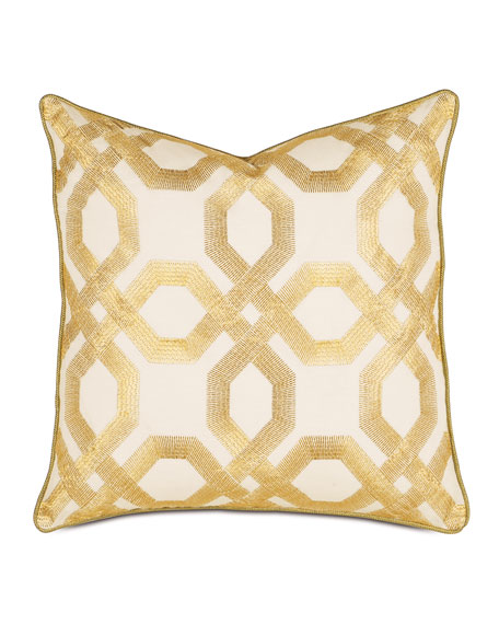 Luxe Square Decorative Pillow