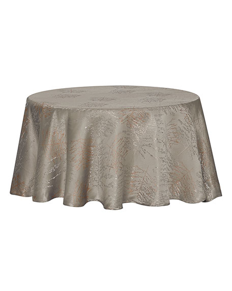 "Timber Tablecloth, 90"" Round"