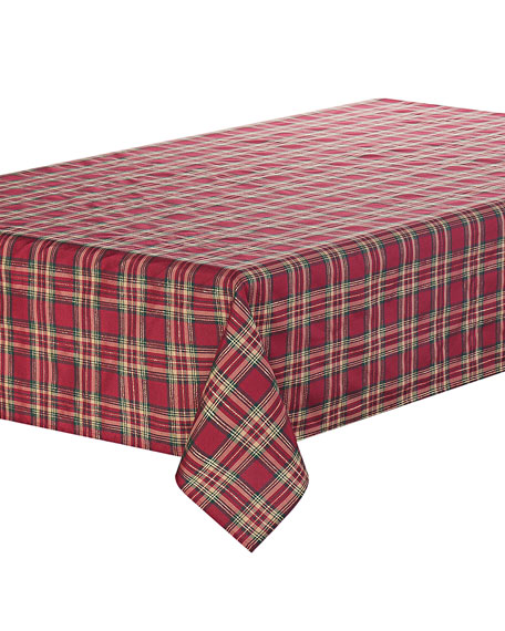 "Newberry Tablecloth, 70"" x 144"""