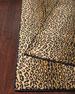 Midnight Cheetah Rug, 3' x 5'