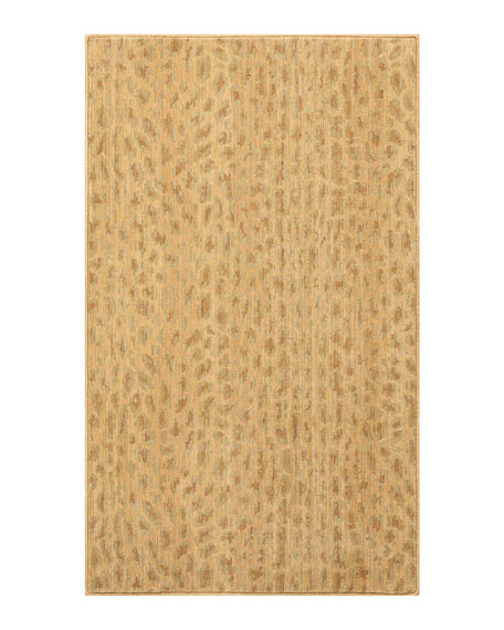 Blond Cheetah Rug, 3' x 5'