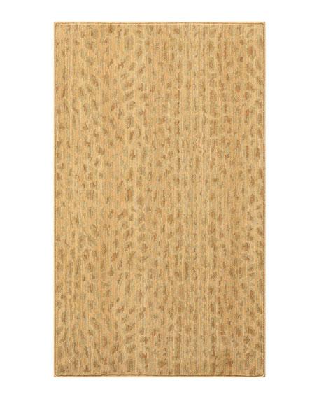 Blond Cheetah Mat, 3' x 5'