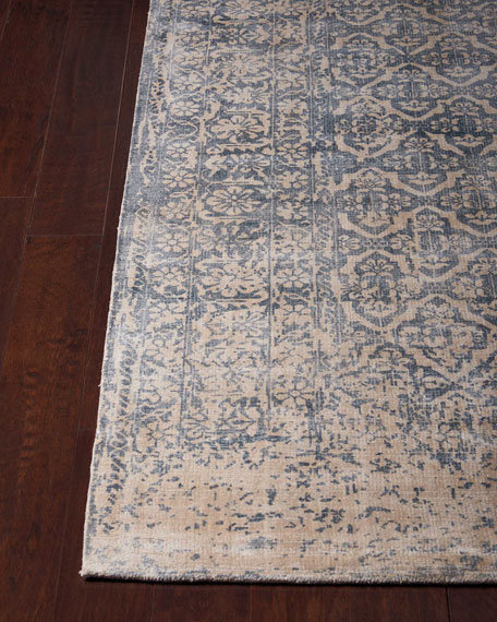 "Normandy Hand-Loomed Runner, 2'3"" x 8'"
