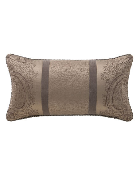 "Waterford Glenmore Decorative Pillow, 11"" x 20"""