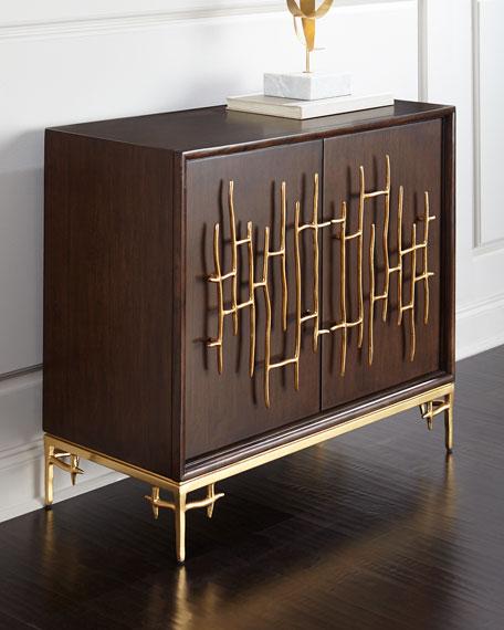 Dolan Wooden Accent Cabinet