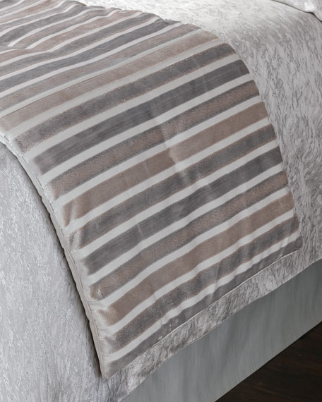 Eastern Accents Vionnet King Bed Scarf