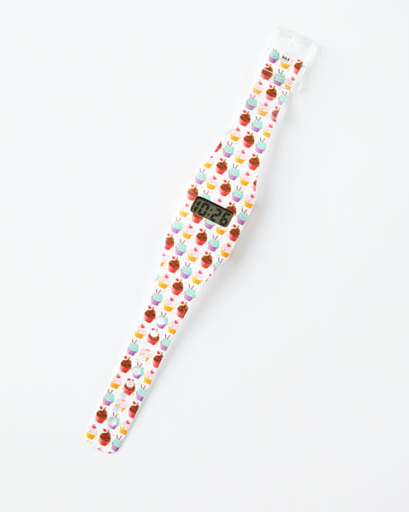 Pappwatch Cupcake Paper Watch