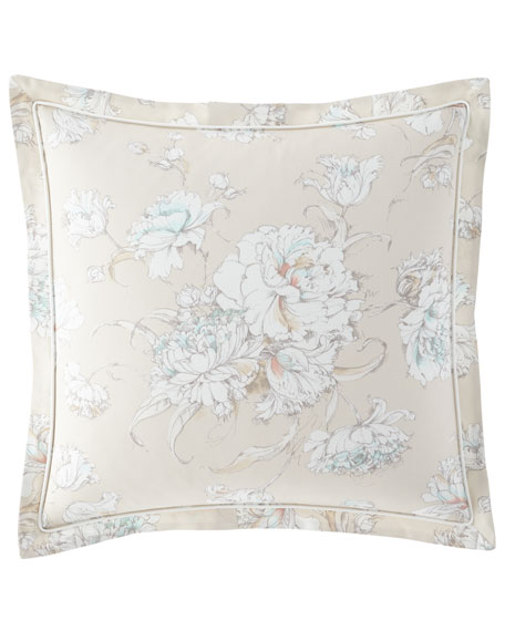 Peacock Alley Flora European Sham