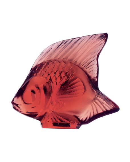 Lalique Red Fish