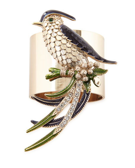 Bird Napkin Rings, Set of 2