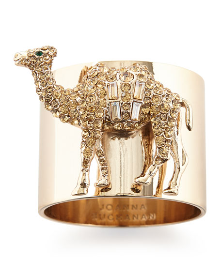 Camel Napkin Rings, Set of 2