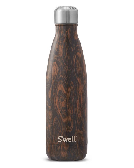 S'well Wenge Wood Faux-Bois 17-oz. Water Bottle