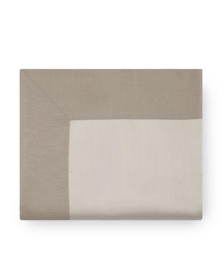 King Double-Faced Sateen Flat Sheet