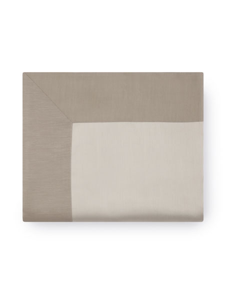 King Double-Faced Sateen Bottom Fitted Sheet