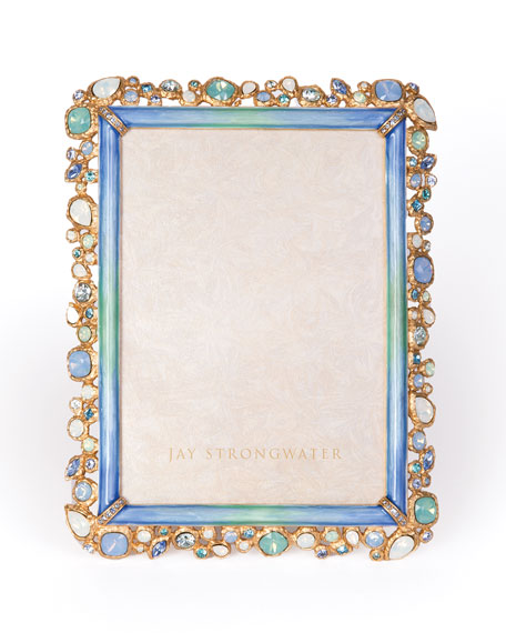 Jay Strongwater Oceana Bejeweled Frame, 5