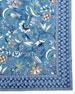 "Kerala Sapphire Tablecloth, 72"" x 108"""