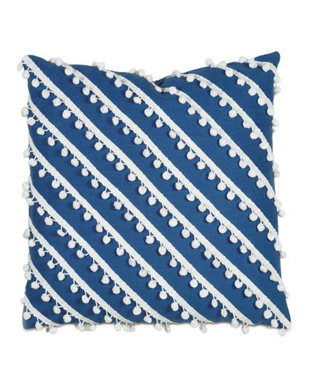 "Pineapple Bobble Decorative Pillow, 20""Sq."