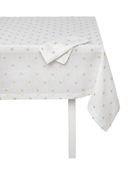 "Vogue Tablecloth, 66"" x 144"""