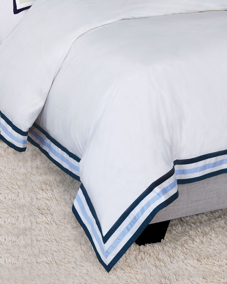 Watermill Indigo Queen Duvet