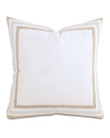 Eastern Accents Watermill Taupe European Sham