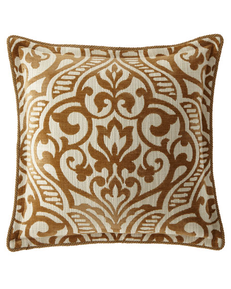 Loana Medallion European Sham