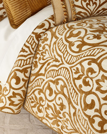 Sweet Dreams Loana Medallion European Sham and Matching