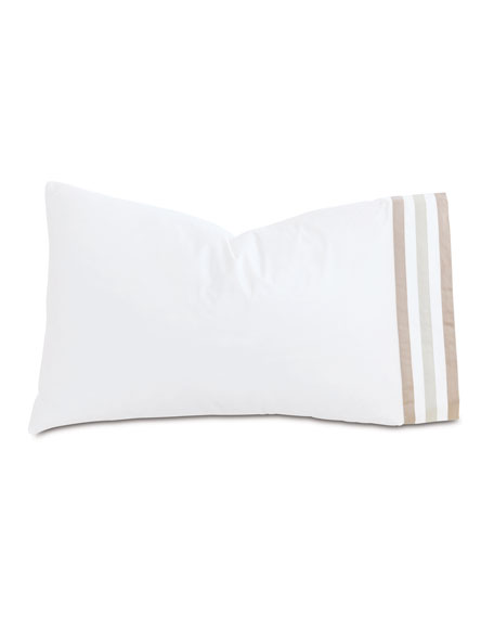 Watermill Taupe King Pillowcase