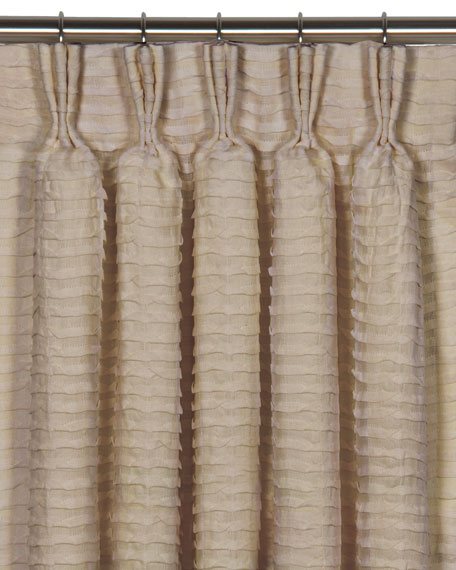 Eastern Accents Yearling Flax Pinch Pleat Curtain Panel,