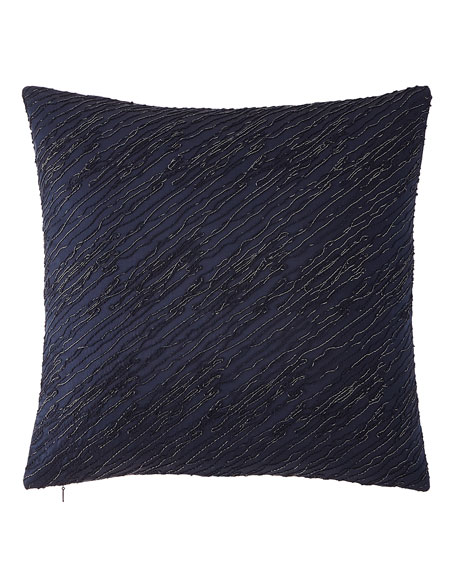 Twisted Embroidery Decorative Pillow