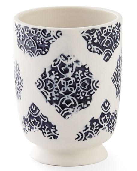 Lakki Porcelain Tumbler, Blue