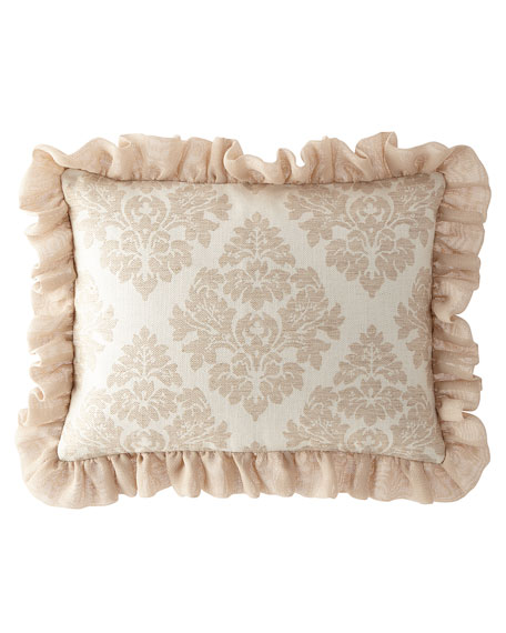 Odette Standard Sham with Ruffle Edge