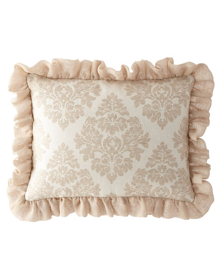 Sweet Dreams Odette King Sham with Ruffle Edge