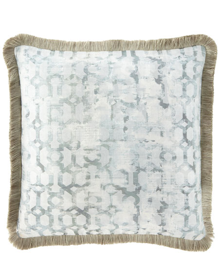 Cristabella European Sham with Brush Fringe