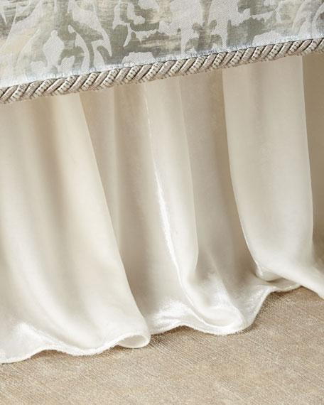 Dian Austin Couture Home Cristabella Velvet Adjustable Dust
