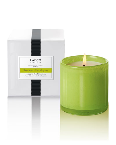 Rosemary Eucalyptus Signature Candle &#150 Office