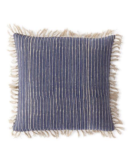 """Marianna Linen Decorative Pillow, 20""""Sq."""