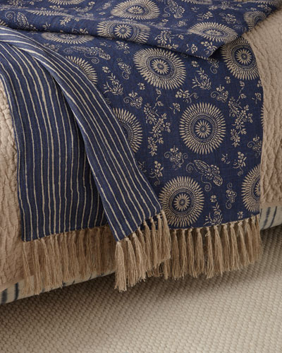 Marianna Linen Throw