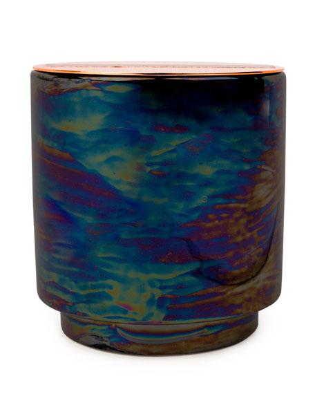 Incense & Smoke Iridescent Ceramic Candle, 17 oz./482g
