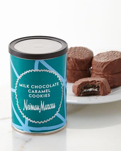 Milk Chocolate Caramel Cookies