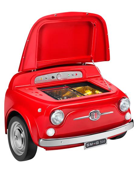 Smeg FIAT X SMEG Red Electric Cooler