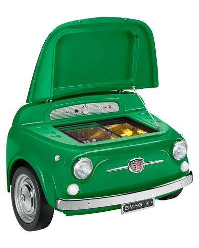 FIAT X SMEG Green Electric Cooler