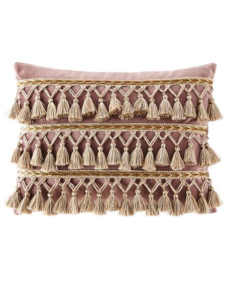 Dian Austin Couture Home Wisteria Scroll Velvet Pillow