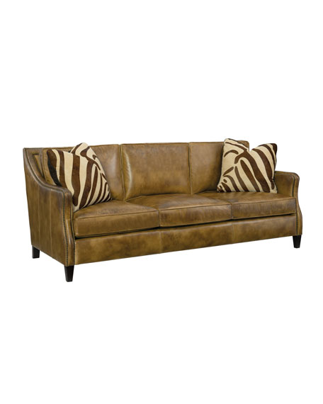 Edmond Leather Sofa