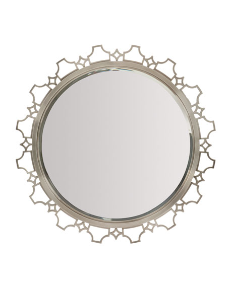 Damonica Metal Edge Round Mirror