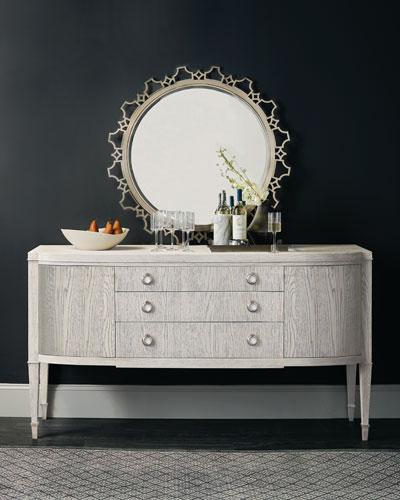 Damonica Round Mirror